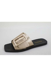 JP Original Bamboo Slide W/ Buckle - Front cropped