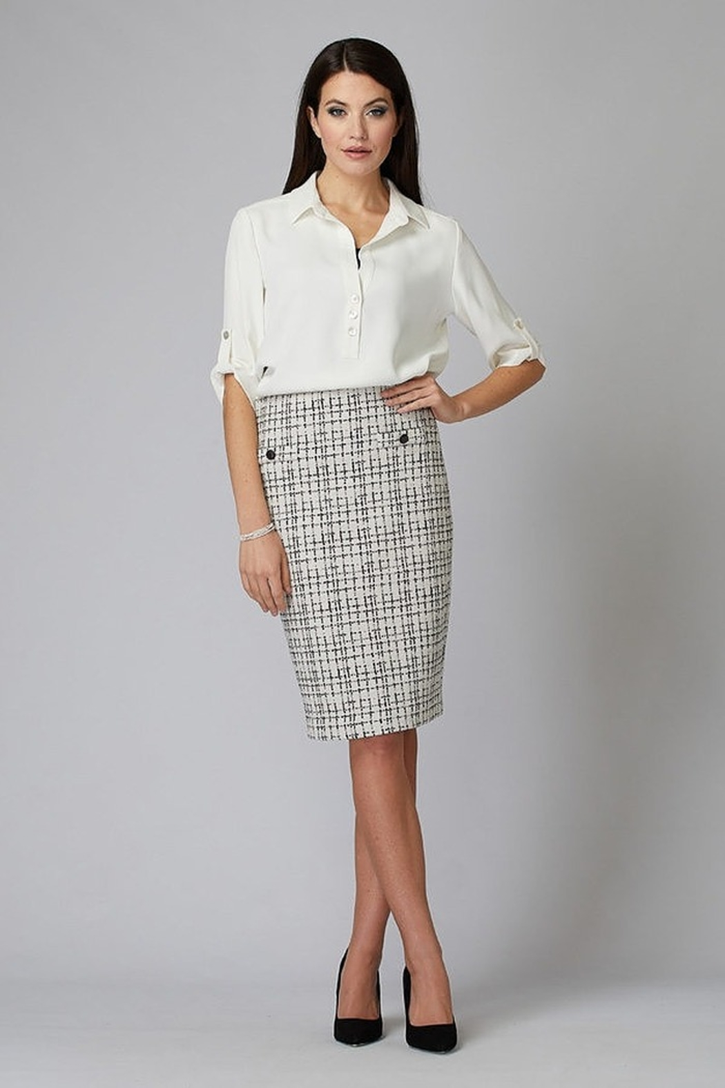 Joseph Ribkoff JR Skirt - Front Cropped Image