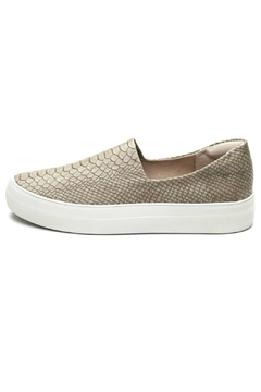 Shoptiques Product: Taupe Embossed Sneaker