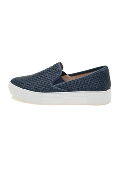 JSlides Woven Leather Sneaker - Product List Image