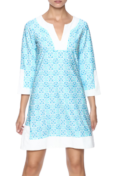 Jude Connally Blue Mayan Tunic - Product List Image