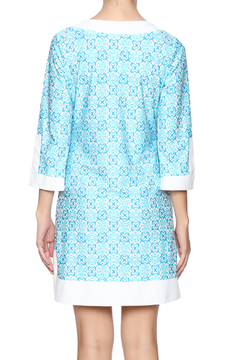 Jude Connally Blue Mayan Tunic - Alternate List Image