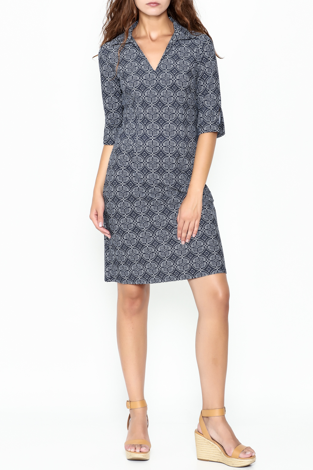 Jude Connally Megan Tunic Dress - Side Cropped Image