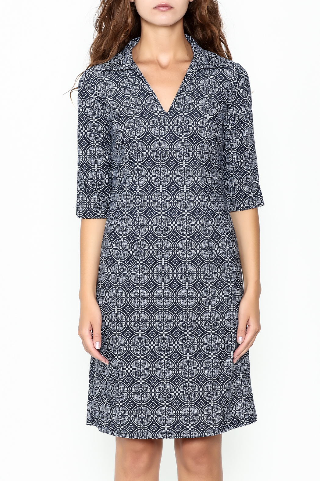 Jude Connally Megan Tunic Dress - Front Full Image