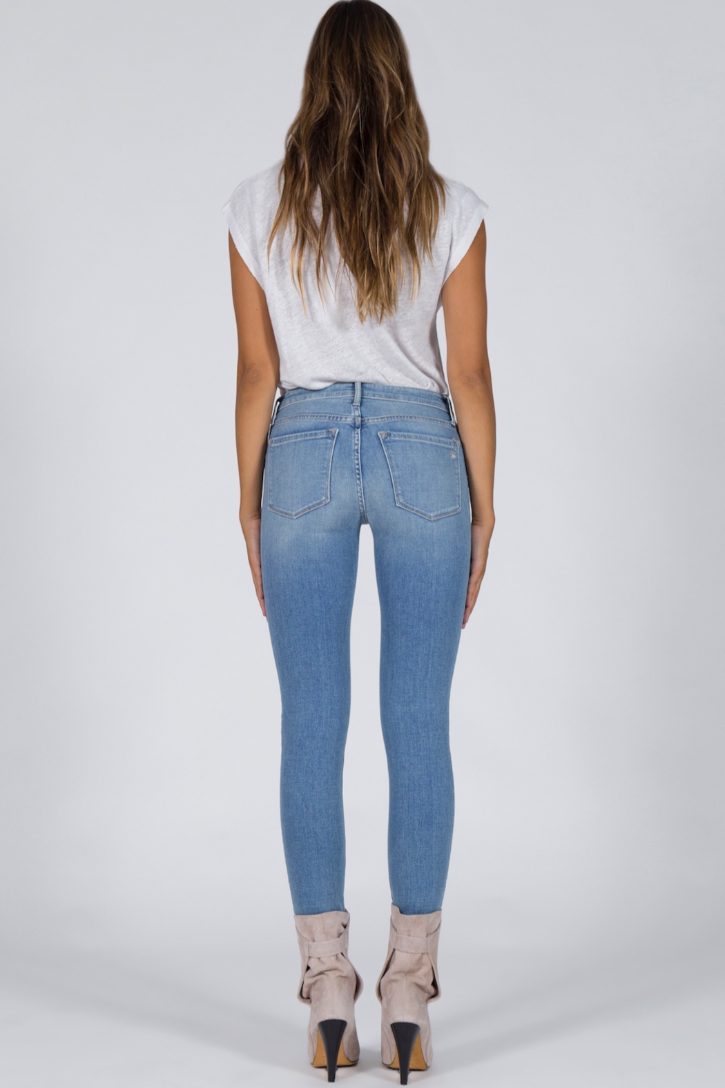 Black Orchid Denim Jude - Edge of My Seat - Back Cropped Image