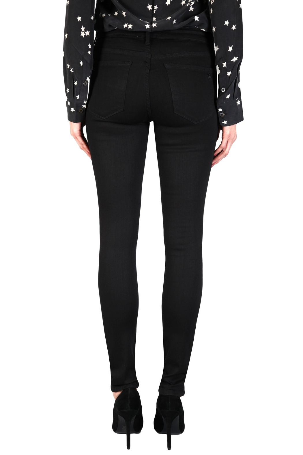 Black Orchid Denim Jude Mid-Rise Skinny - Front Full Image