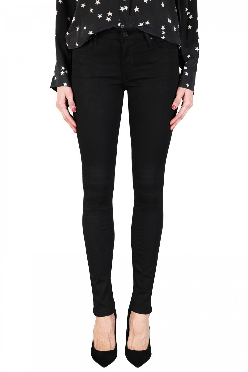 Black Orchid Denim Jude Mid-Rise Skinny - Front Cropped Image