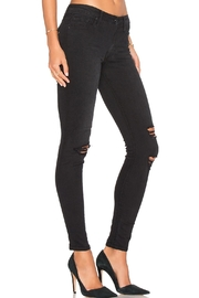 Black Orchid Denim Jude Mid Rise Super Skinny Denim - Front cropped