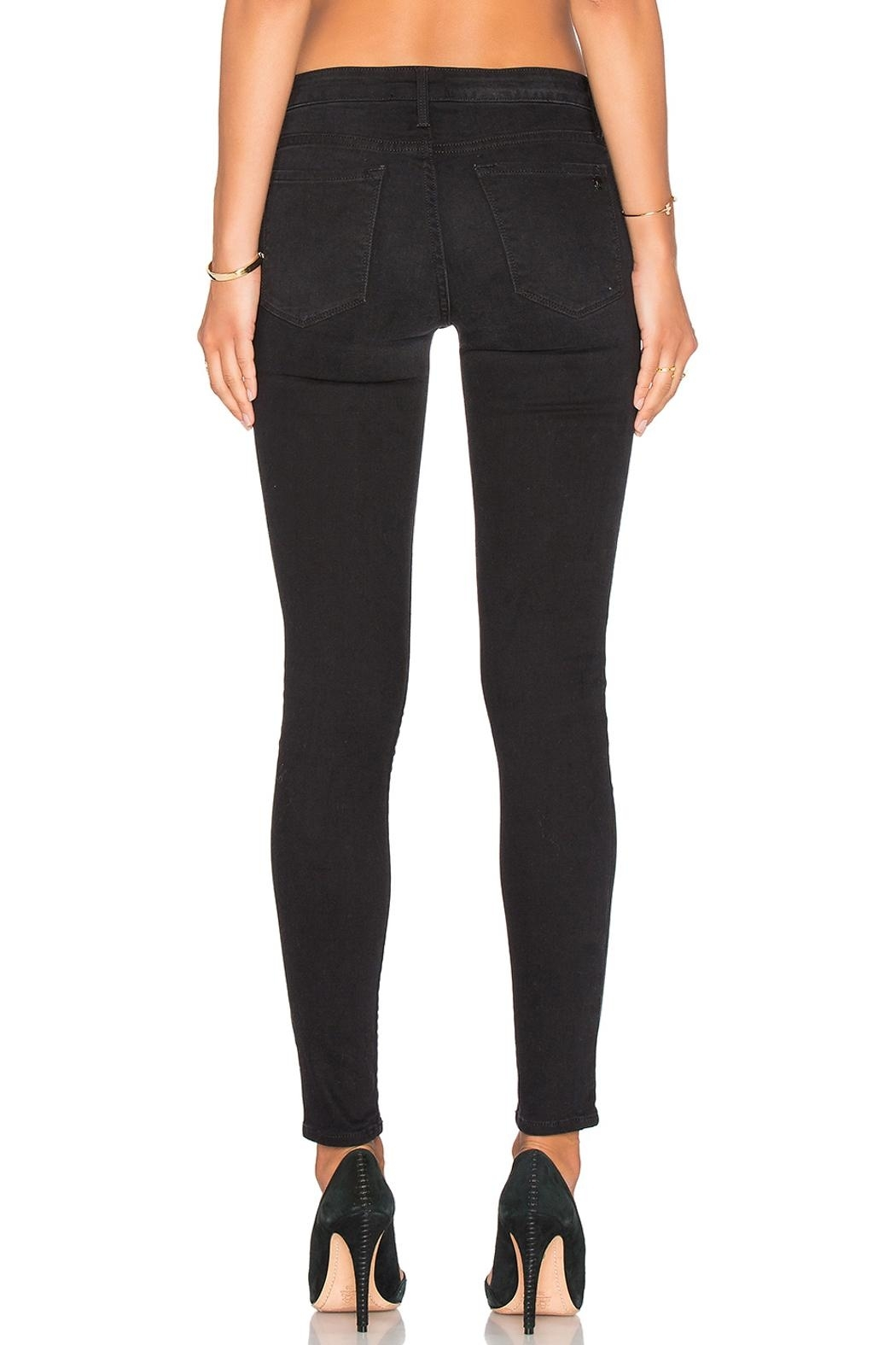 Black Orchid Denim Jude Mid Rise Super Skinny Denim - Side Cropped Image