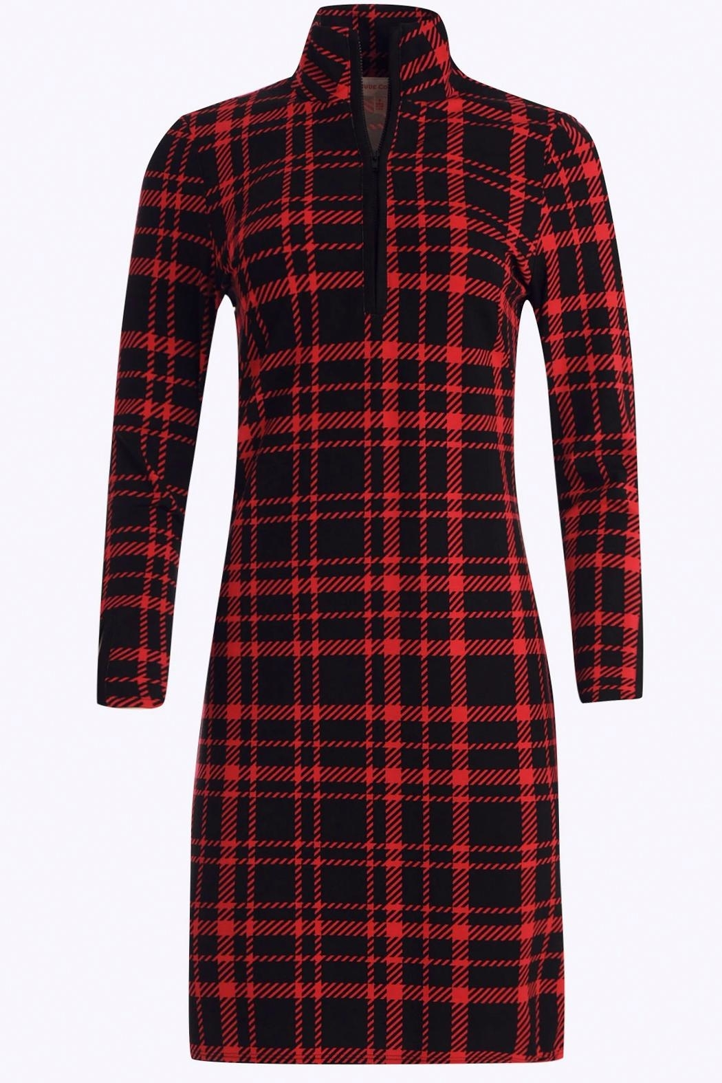 Jude Connally Anna Ponte Knit Dress - Side Cropped Image