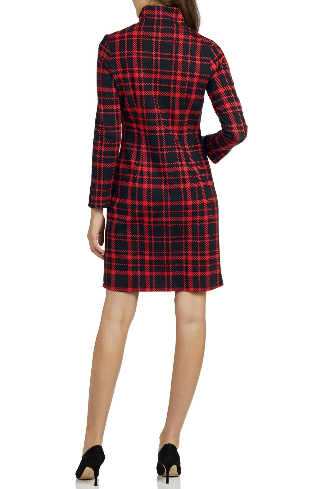 Jude Connally Anna Ponte Knit Dress - Front Full Image