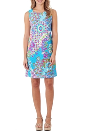 Jude Connally Vibrant Shift Dress - Product Mini Image