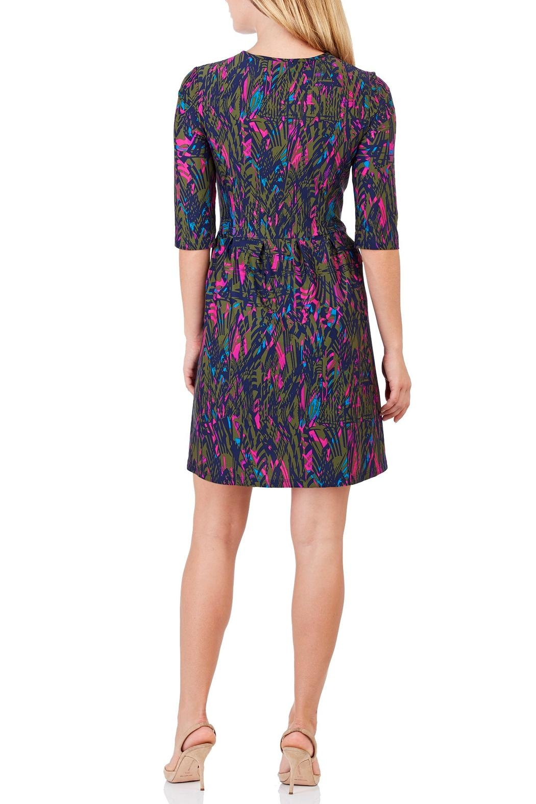 Jude Connally Brynn Fit & Flare Dress - Front Full Image