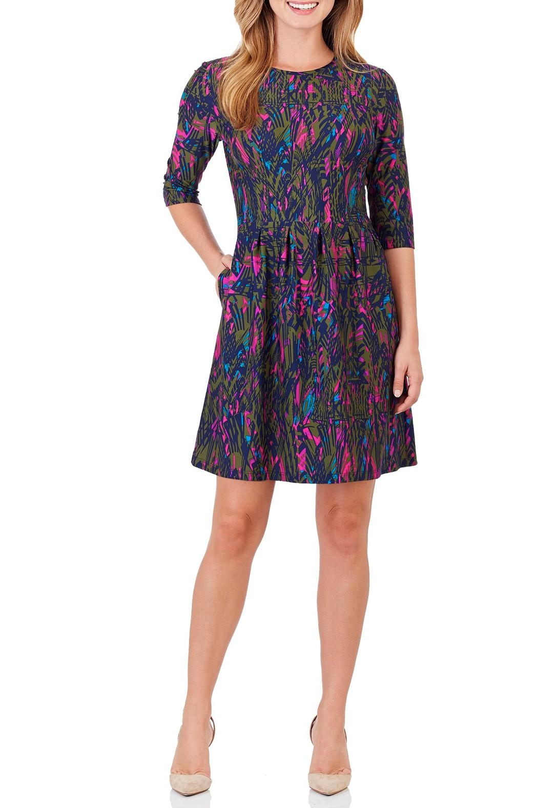 Jude Connally Brynn Fit & Flare Dress - Main Image