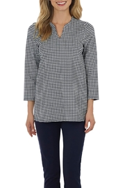 Jude Connally Darcie Ponte Top - Front cropped