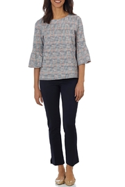 Jude Connally Dixie Ponte Top - Front cropped