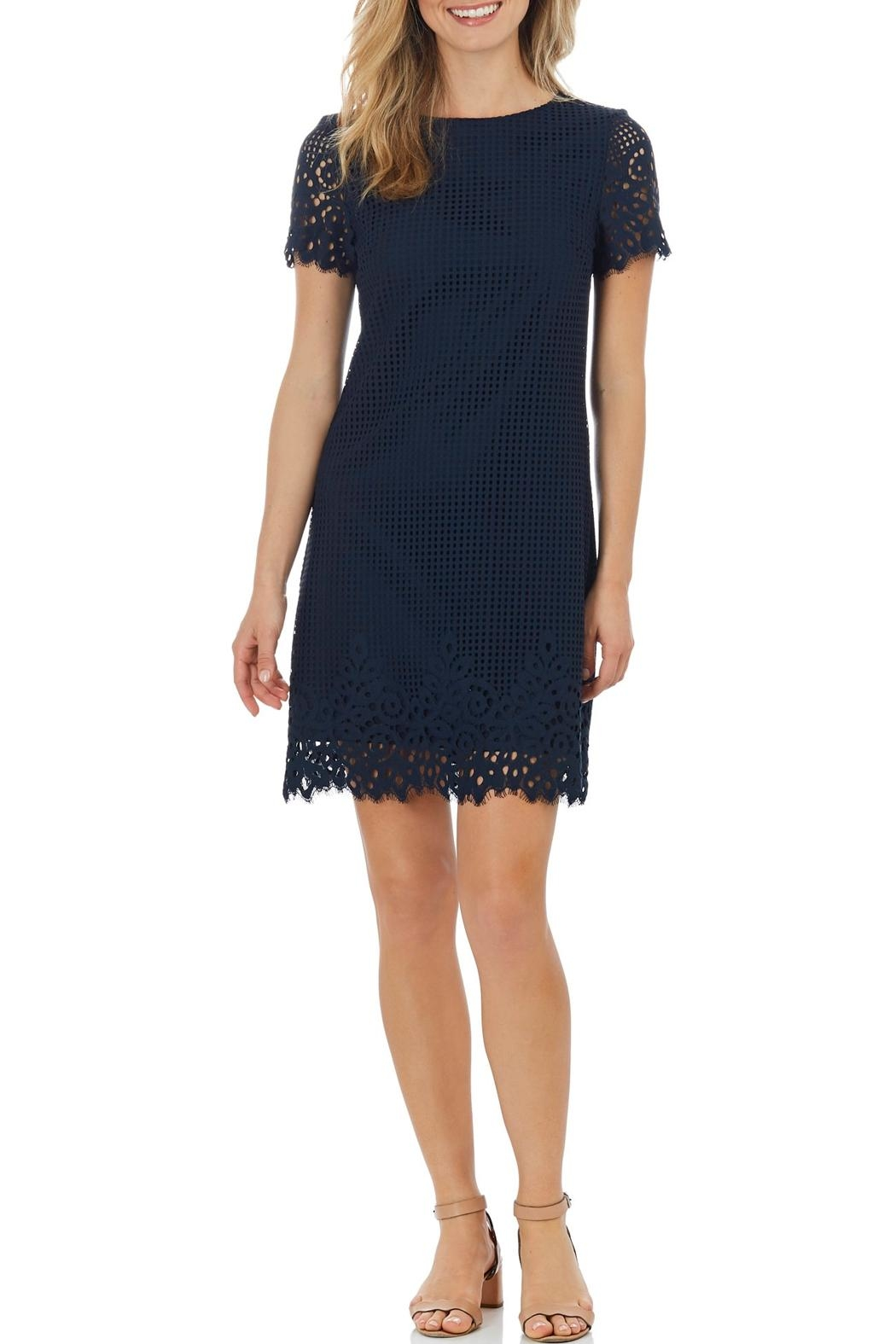 Jude Connally Ella Spring-Lace Dress - Front Cropped Image