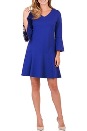 Jude Connally Gabriella Ponte Dress - Front cropped