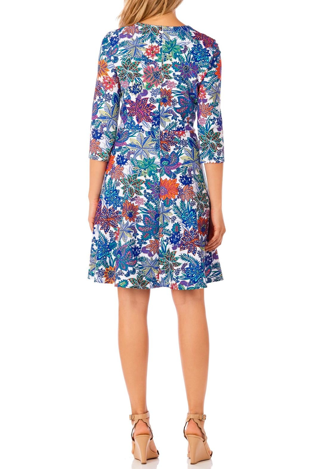 Jude Connally Lennox Fit-n-Flare Dress - Front Full Image