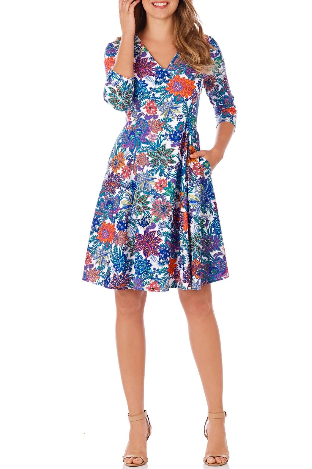 Jude Connally Lennox Fit-n-Flare Dress - Main Image
