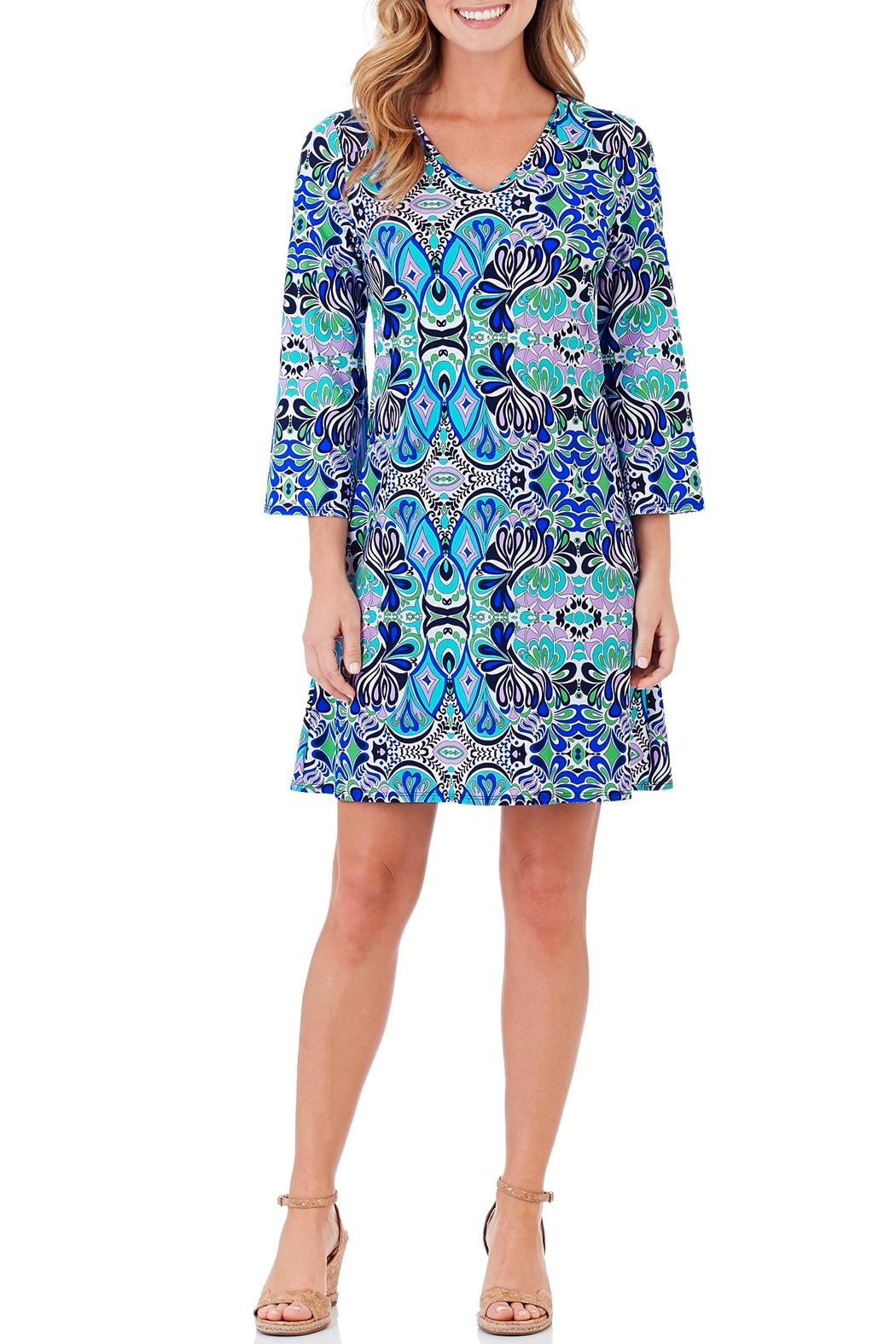 Jude Connally Lexi Shift Dress - Front Cropped Image