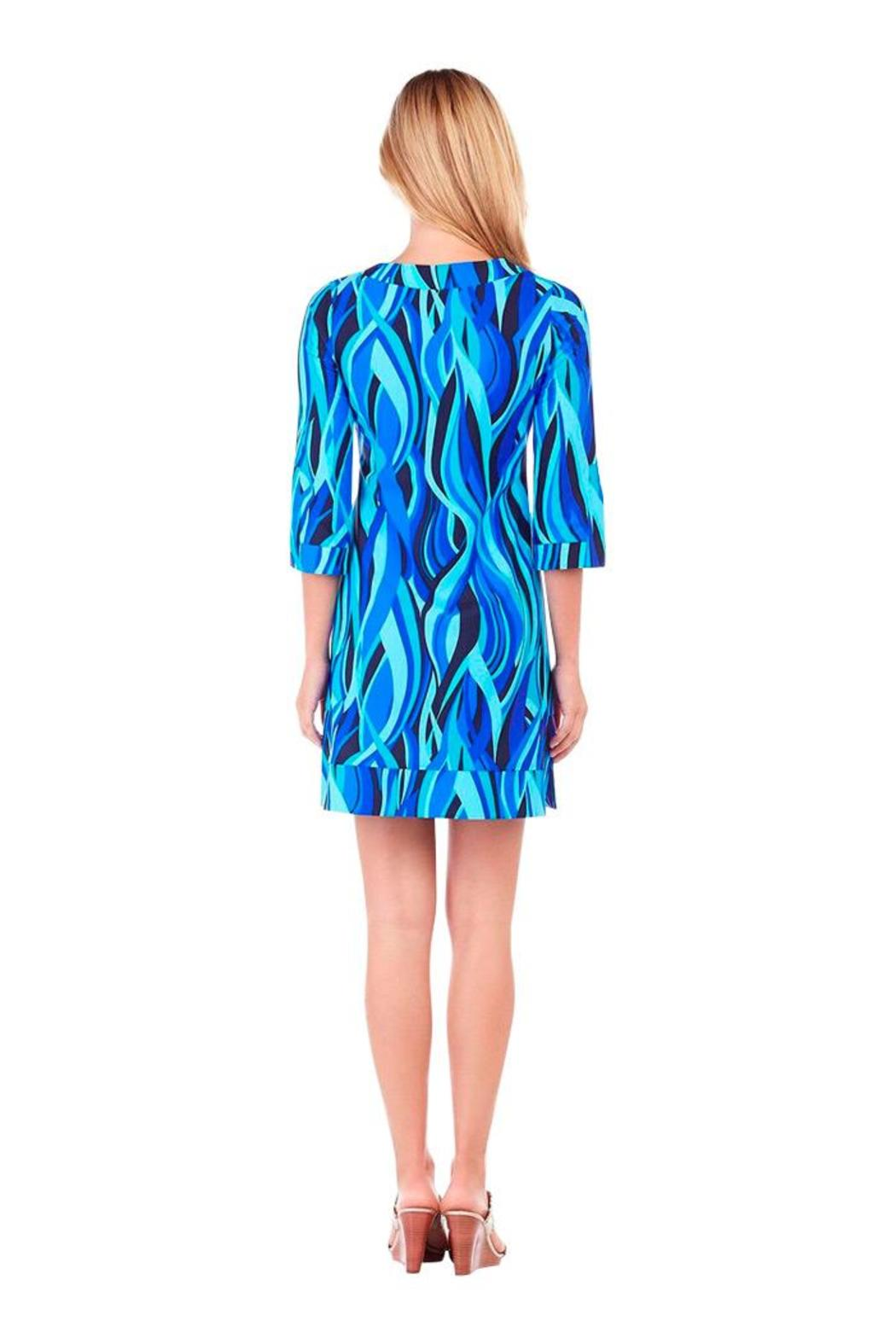 Jude Connally Megan High Tide Dress - Side Cropped Image