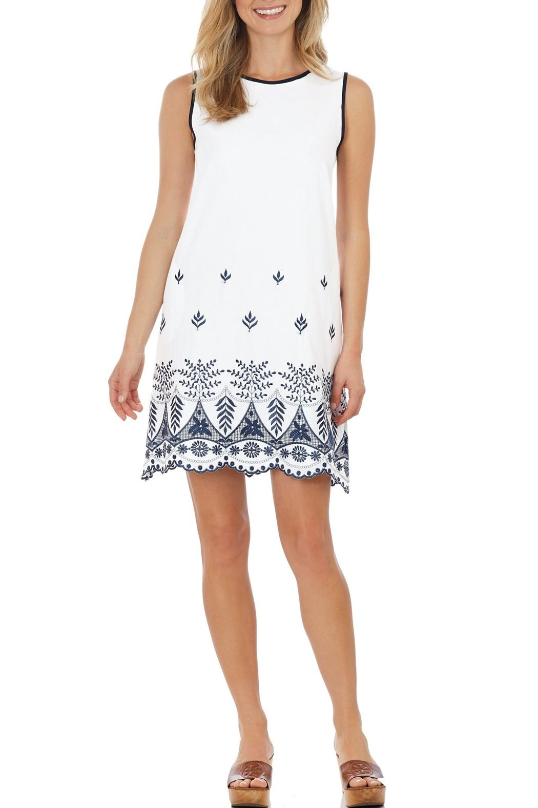 Jude Connally Melody Embroidered Dress - Main Image