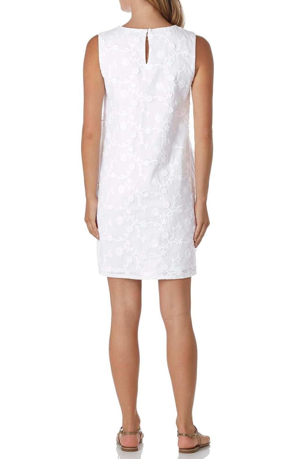 Jude Connally Melody Embroidered Dress - Front Full Image