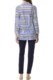 Jude Connally Olivia Ponte-Knit Ankle-Pant - Front full body