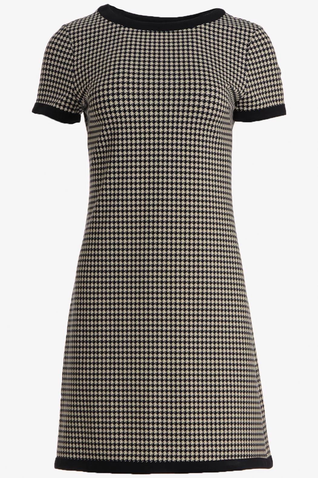 Jude Connally Parker Ponte Dress - Side Cropped Image