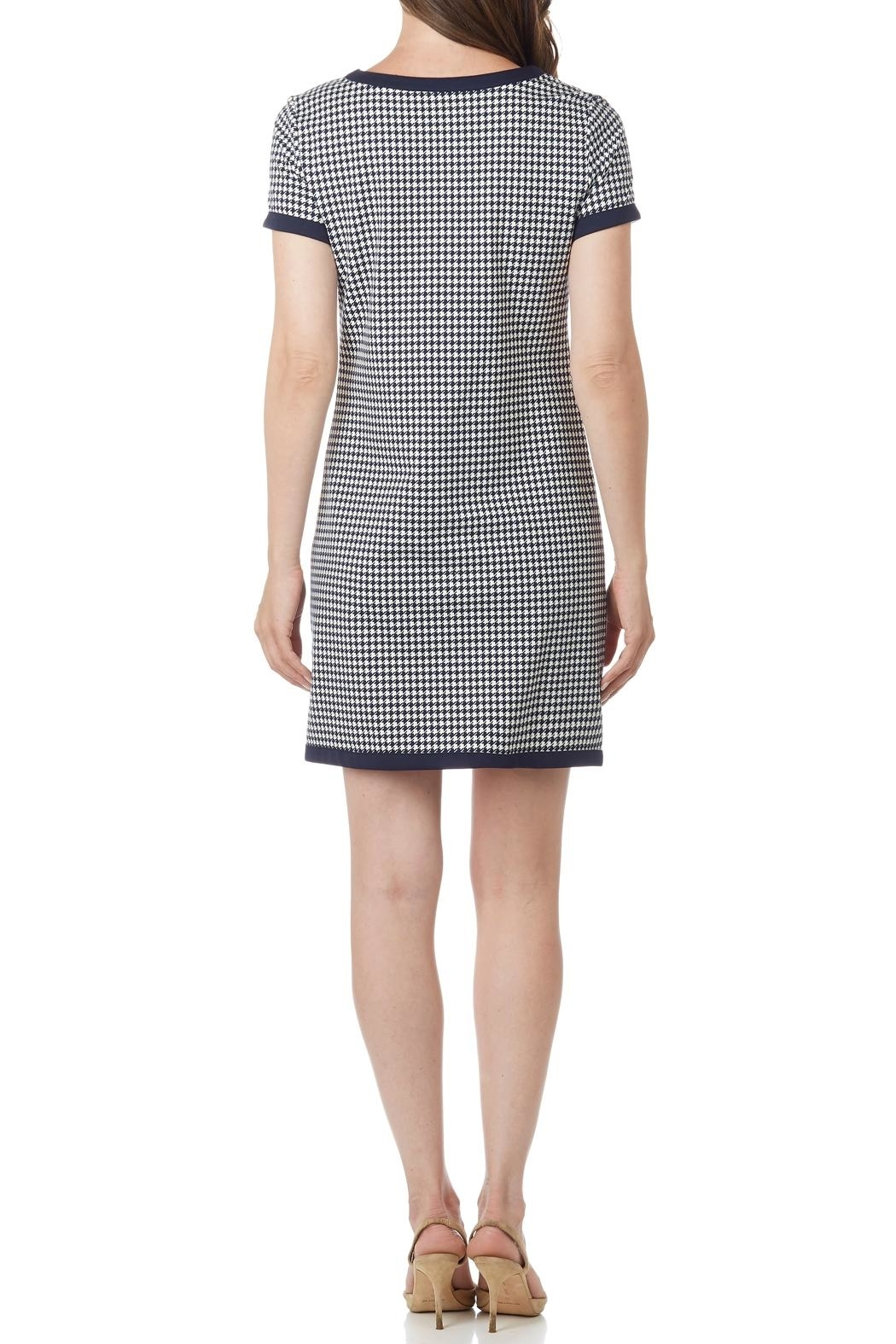 Jude Connally Parker Ponte Dress - Front Full Image