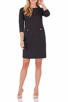 Jude Connally Ponte Shift Dress - Product List Image