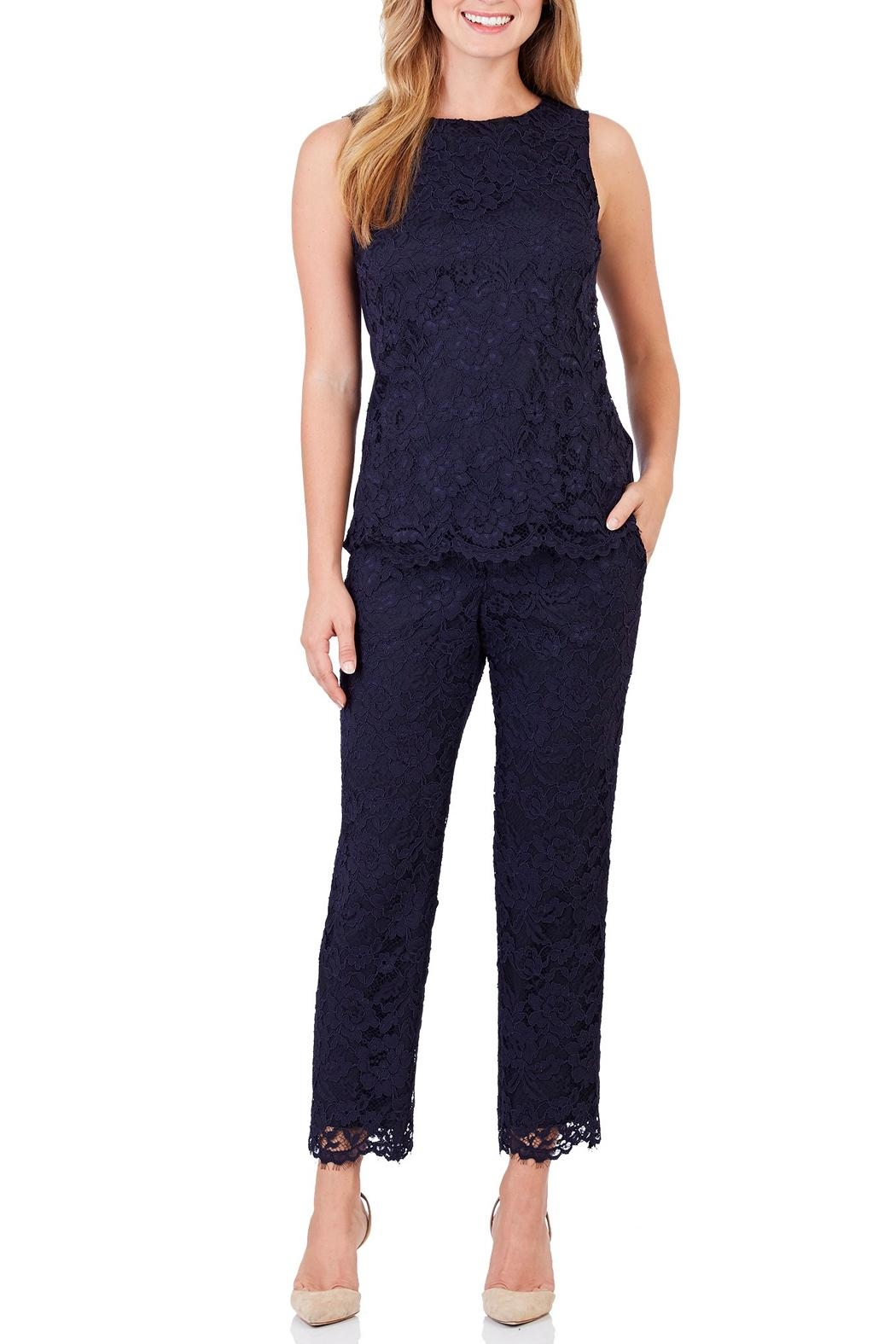 Jude Connally Rose Lace Pants - Front Cropped Image