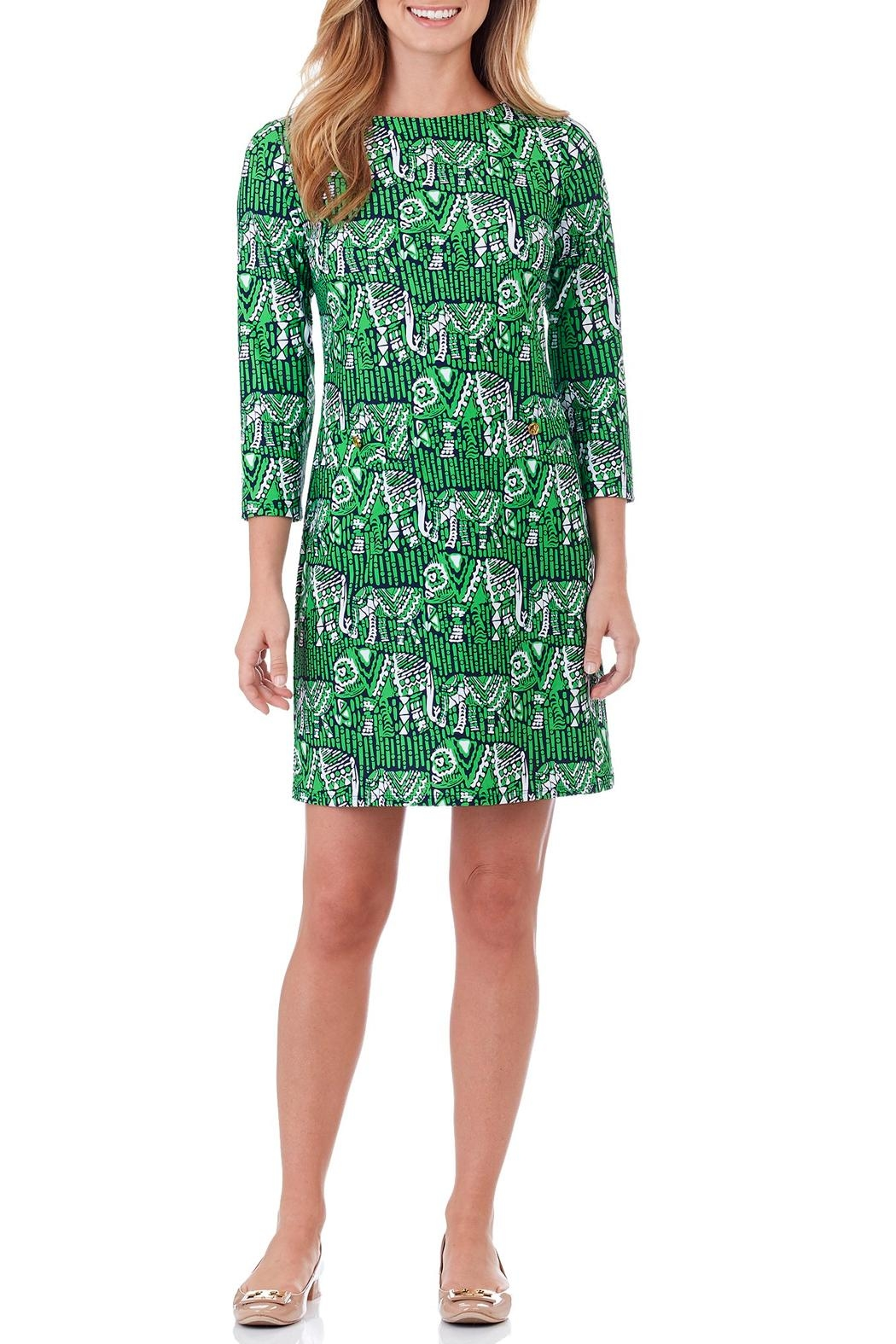 Jude Connally Sabine Shift Dress - Front Cropped Image
