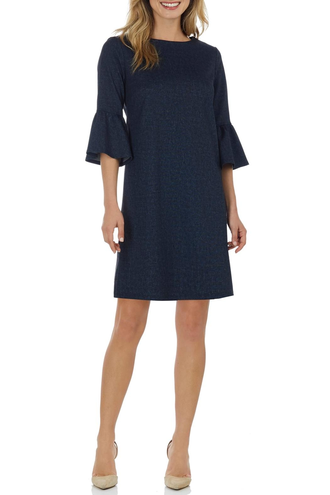 Jude Connally Shelby-Club Denim Dress - Main Image