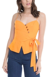 Aster Judi Bow Top - Front cropped