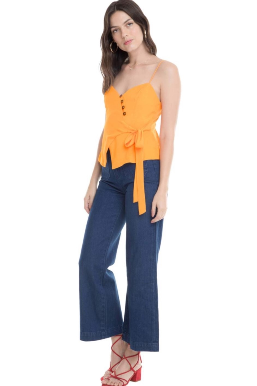 Aster Judi Bow Top - Front Full Image
