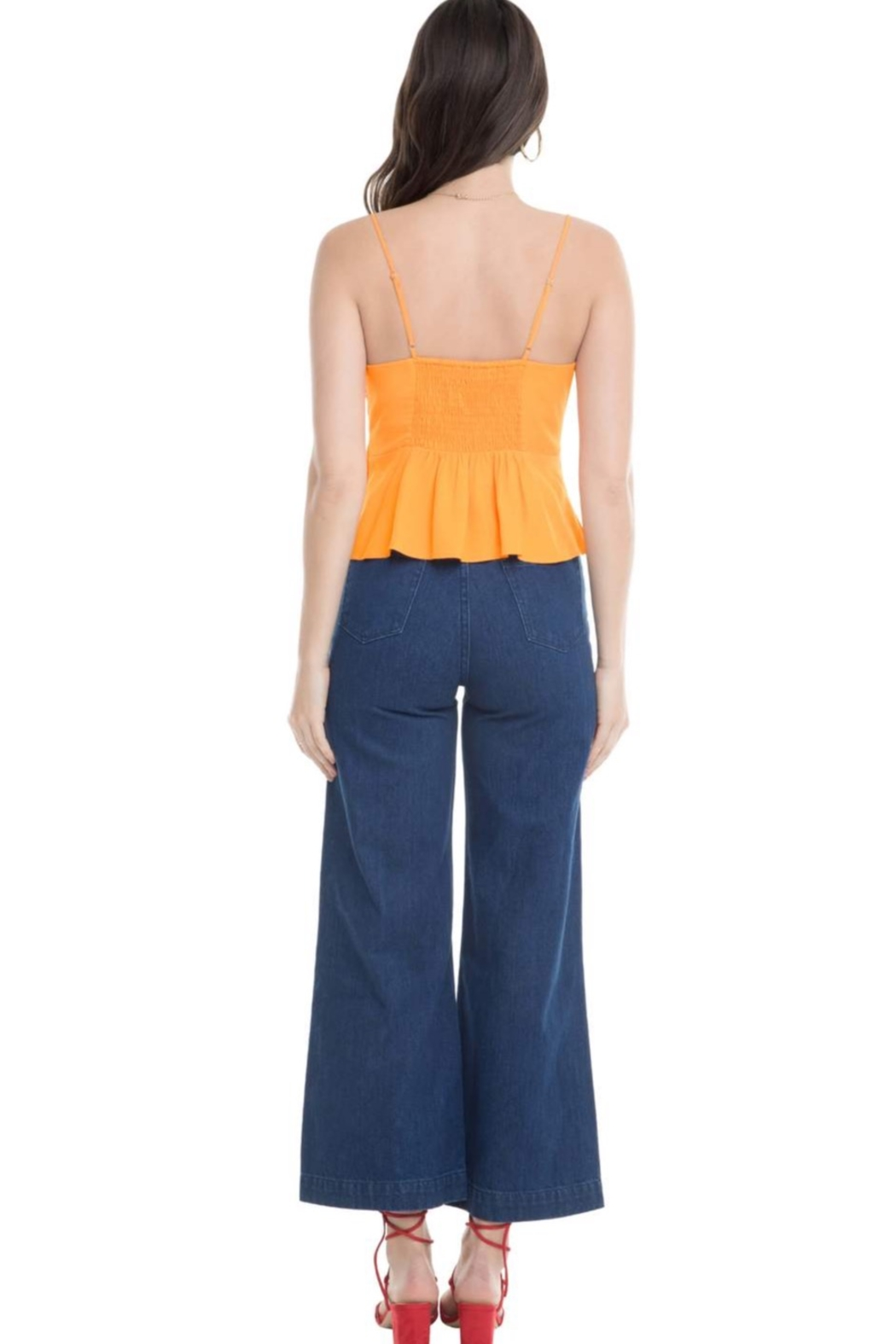 Aster Judi Bow Top - Side Cropped Image