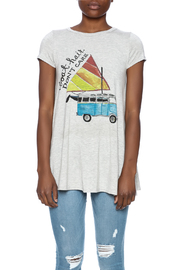 Judith March Boat Hair Tee - Side cropped