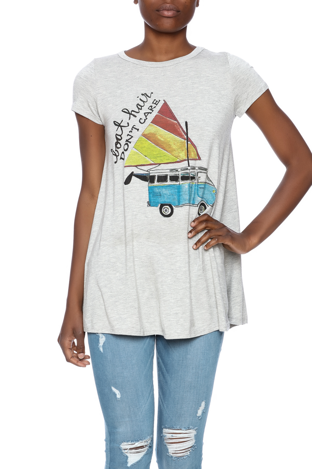 Judith March Boat Hair Tee - Main Image