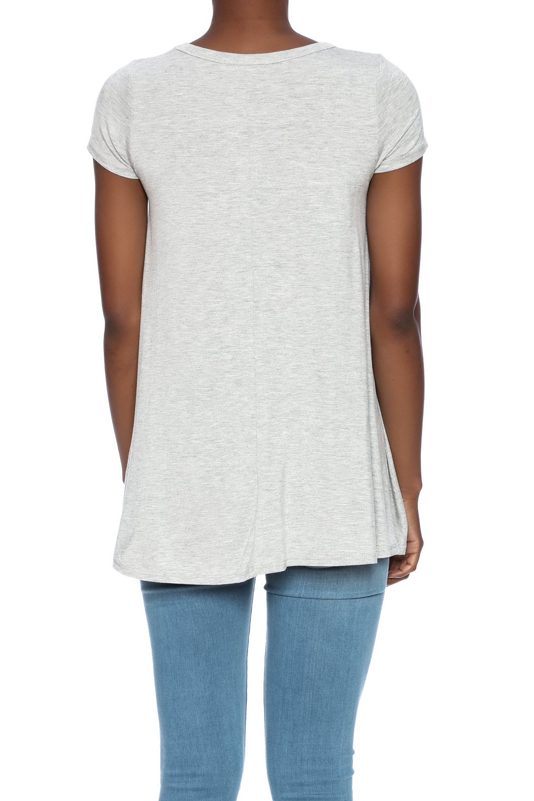 Judith March Boat Hair Tee - Back Cropped Image