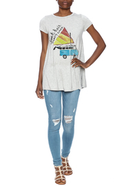 Judith March Boat Hair Tee - Front full body