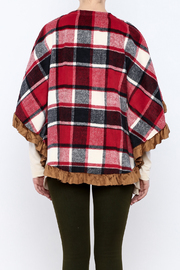 Judith March Boho Plaid Cover - Back cropped