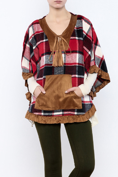 Shoptiques Product: Boho Plaid Cover