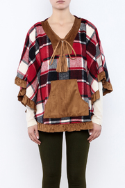 Judith March Boho Plaid Cover - Side cropped