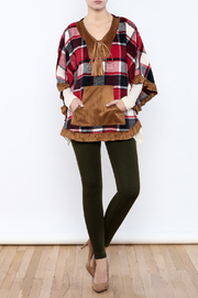 Judith March Boho Plaid Cover - Front full body