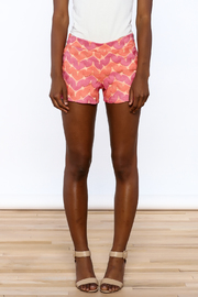 Judith March Bright Crochet Shorts - Side cropped