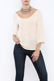 Judith March Crochet Long Sleeve - Front cropped
