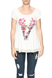 Judith March Deer Head Top - Side cropped