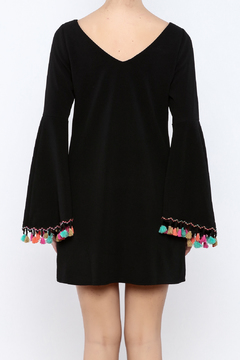 Shoptiques Product: Festive Bell-Sleeved Dress